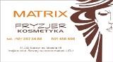 Logo firmy MATRIX  Fryzjer  Kosmetyka