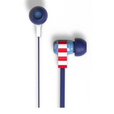 Słuchawki dokanałowe TRIBE EPW11601 Swing Captain America Niebieski