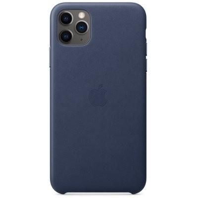Etui APPLE Leather Case do iPhone 11 Pro Max Ciemnoniebieski MX0G2ZM/A