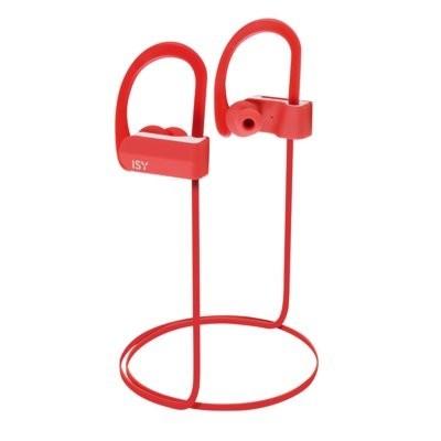 Słuchawki bezprzewodowe ISY IBH-3500-RD Czerwony