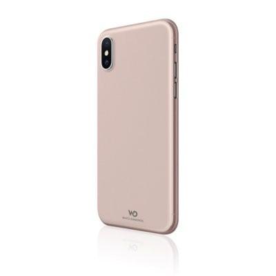 Etui HAMA Black Rock Ultra Thin Iced do Apple iPhone XS Max Różowo-Złoty
