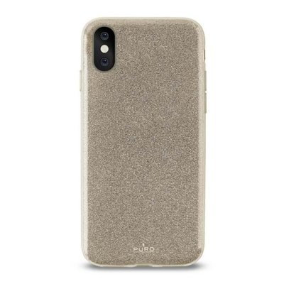 Etui PURO Glitter Shine Cover do Apple iPhone X Złoty IPCXSHINEGOLD
