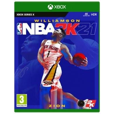 Gra Xbox Series NBA 2K21