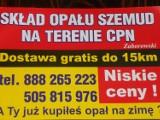 Logo firmy SKŁAD OPAŁU SZEMUD NA TERENIE CPN