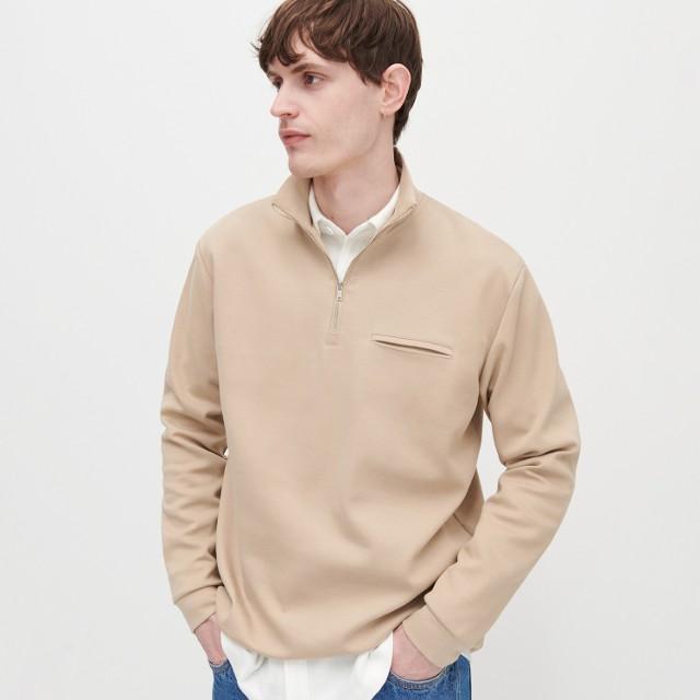 Reserved - Bluza ze stójką - Beżowy