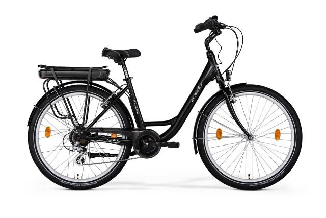 Rower miejski elektryczny M-Bike Black