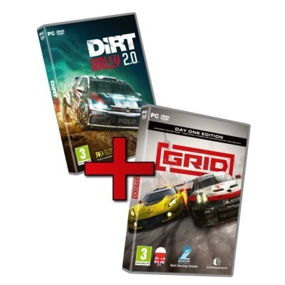 Racing Pack GRID & DiRT Rally 2.0 Gra PC KOCH MEDIA
