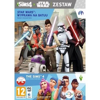The Sims 4 + Dodatek The Sims 4: Star Wars Wyprawa na Batuu Gra PC ELECTRONIC ARTS