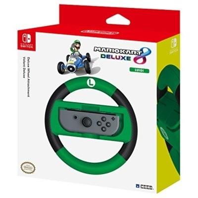 NSW-055U Joy-Con Wheel Deluxe - Luigi do Nintendo Switch Nakładka na kontroler HORI