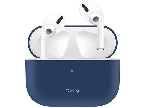 PURO Crong Liquid Case do Apple AirPods Pro (granatowy)