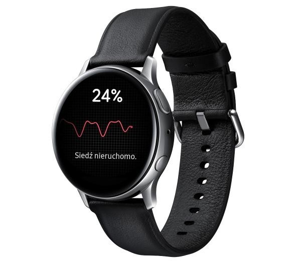 Samsung Galaxy Watch Active 2 40mm (srebrny)