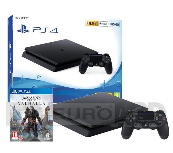 Sony PlayStation 4 Slim 500GB + Assassin's Creed Valhalla