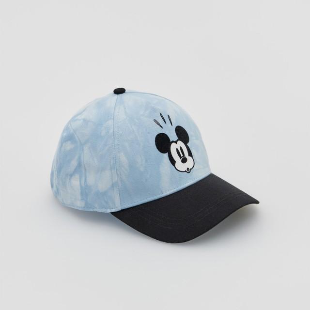 Reserved - Czapka z daszkiem Myszka Miki - Niebieski
