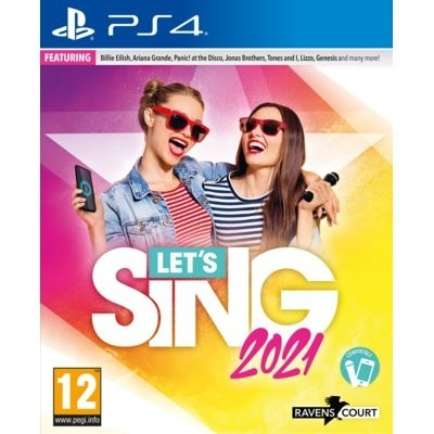 Let's Sing 2021 + Mikrofon Gra playstation 4 KOCH MEDIA