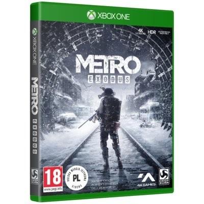 Metro Exodus Gra xbox one TECHLAND