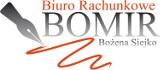 Logo firmy Biuro Rachunkowe BOMIR Bożena Siejko