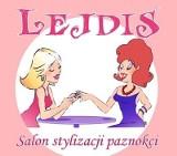 Logo firmy LEJDIS-salon stylizacji paznokci