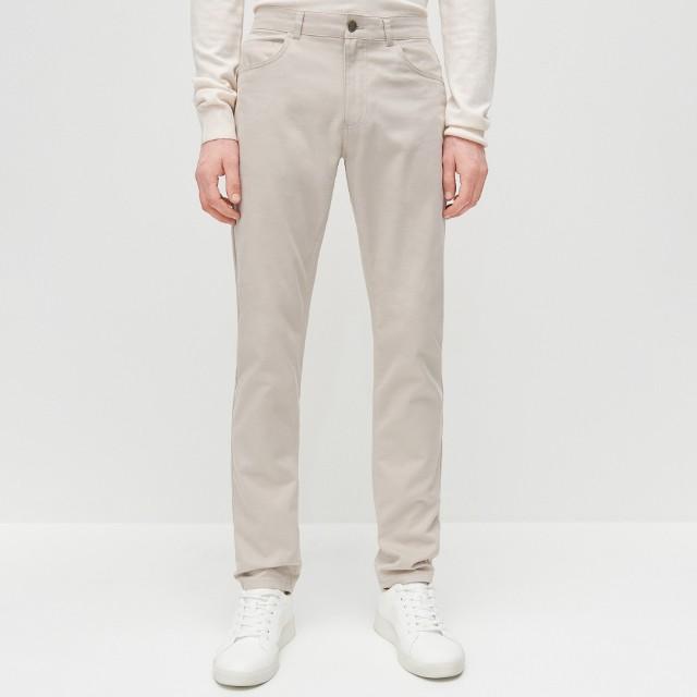 Reserved - Spodnie slim fit - Beżowy