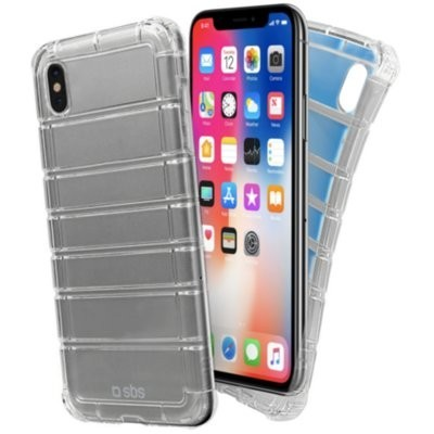 Etui SBS Air Impact do Apple iPhone X/XS Przezroczysty