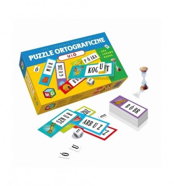 Puzzle ortograficzne U i Ó (30027). Wiek: 7+
