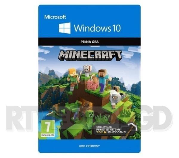 Kolekcja startowa do Minecrafta Windows 10 [kod aktywacyjny] PC