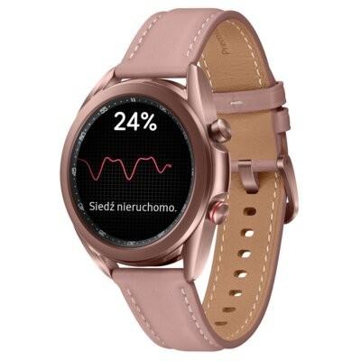 Smartwatch SAMSUNG Galaxy Watch 3 SM-R855N 41mm LTE Miedziany