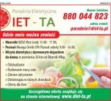 Logo firmy DIET-TA Poradnia Dietetyczna Marta Tadeuszyk