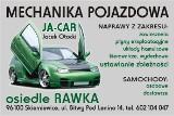 Logo firmy JA-CAR MECHANIKA POJAZDOWA