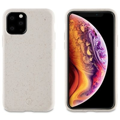 Etui MUVIT For Change Coque Bambootek Cotton do Apple iPhone 11 Pro Max Biały