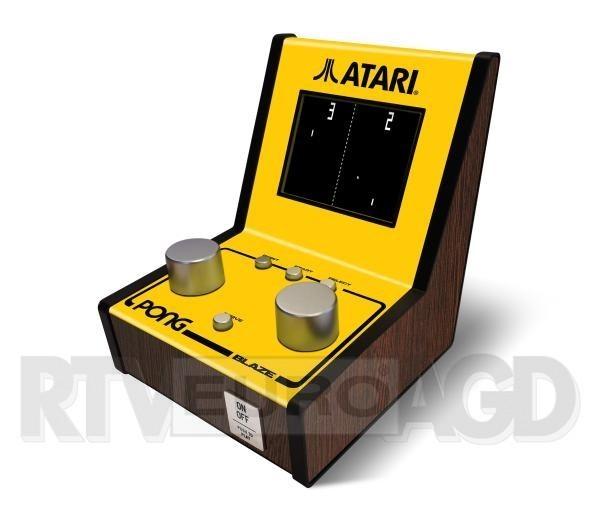 Atari Pong Mini Arcade 12 Retro Games