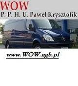 Logo firmy P.P.H.U. WOW Paweł Krysztofik