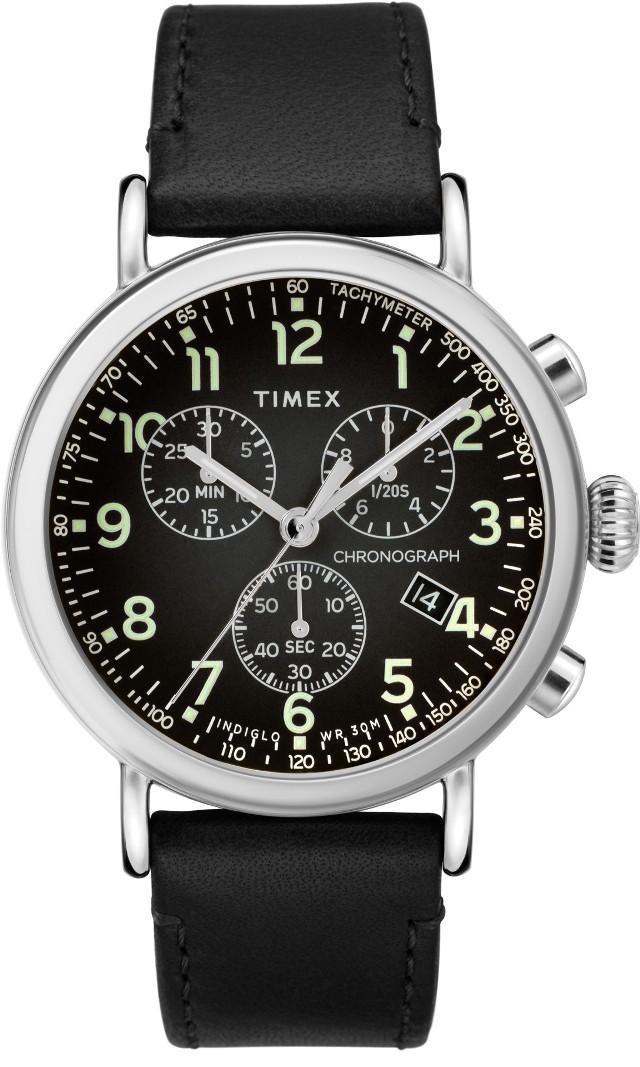 Zegarek męski Timex Main Line TW2T21100 czarny