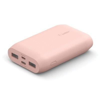 Belkin PowerBank 10k 15W Rose Gold 15cm USB C