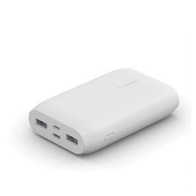 Belkin PowerBank 10k 15W White 15cm USB C cablel