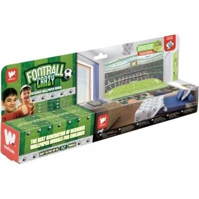 41769 Football Crazy 243,84x304,80cm Fototapeta WALLTASTIC