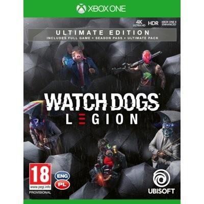 Watch Dogs Legion Ultimate Edition Gra xbox one UBISOFT
