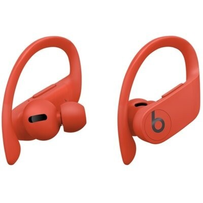 Słuchawki dokanałowe APPLE PowerBeats Pro Czerwony