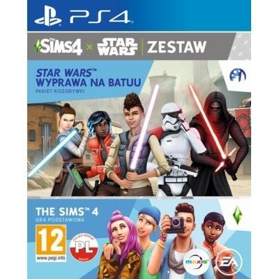 The Sims 4 + Dodatek The Sims 4: Star Wars Wyprawa na Batuu Gra playstation 4 ELECTRONIC ARTS