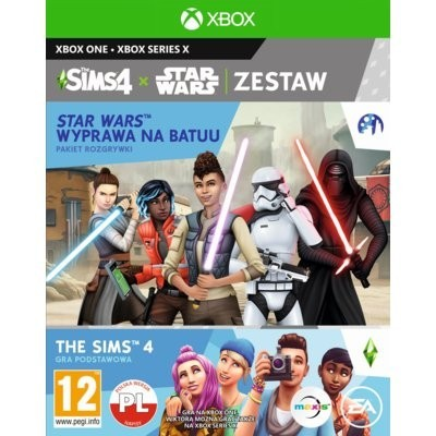 The Sims 4 + Dodatek The Sims 4: Star Wars Wyprawa na Batuu Gra xbox one ELECTRONIC ARTS