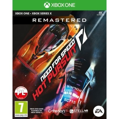 Need for Speed Hot Pursuit Remastered Gra xbox one ELECTRONIC ARTS