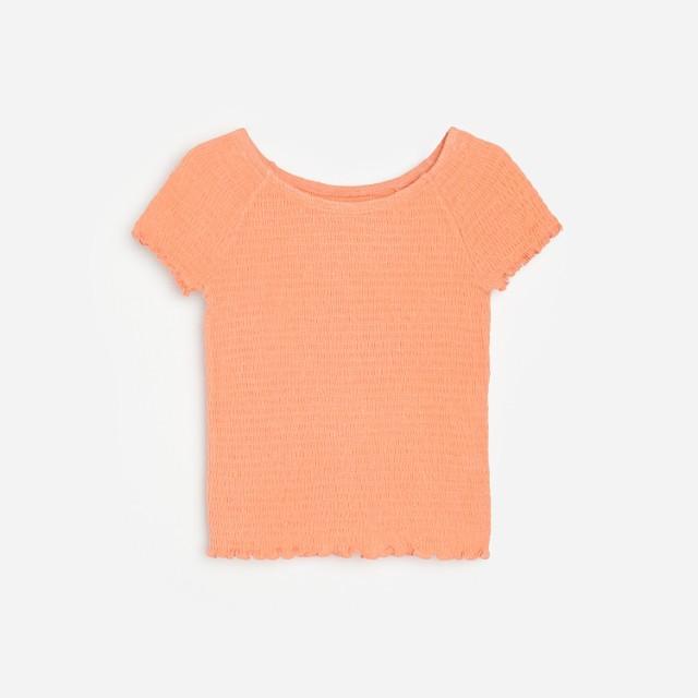 Reserved - Bluzka z odkrytymi ramionami - Pomarańczowy