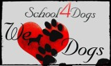 Logo firmy school4dogs. szkola dla psow-z dojazdem do klienta