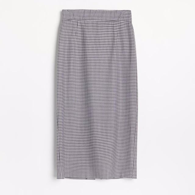 Reserved - Elegancka spódnica w kratę - Wielobarwny