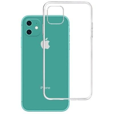 Etui 3MK Clear Case do Apple iPhone 11 Przezroczysty
