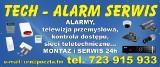 Logo firmy PPHU TECH-ALARM SERWIS WOJCIECH BARTYŚ