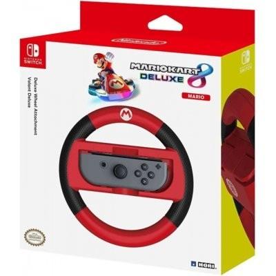 NSW-054U Joy-Con Wheel Deluxe - Mario do Nintendo Switch Nakładka na kontroler HORI
