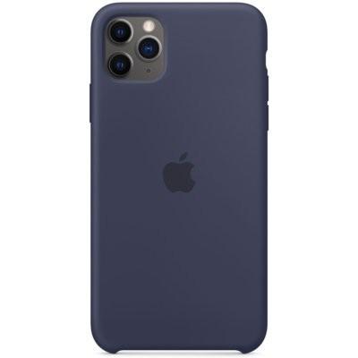 Etui APPLE Silicone Case do iPhone 11 Pro Max Granatowy