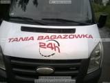 Logo firmy Bagażówka 24 h Przeprowadzki, Transport mebli, rtv, agd. Najtaniej w mieście !!!