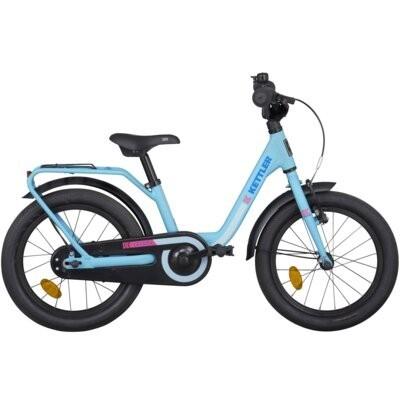 Rower dziecięcy KETTLER Layana 16 cali dla chłopca Niebieski