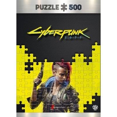 Cyberpunk 2077: Keyart Female V puzzles 500 Puzzle GOOD LOOT